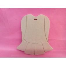 4mm MDF Irish Dress plaque